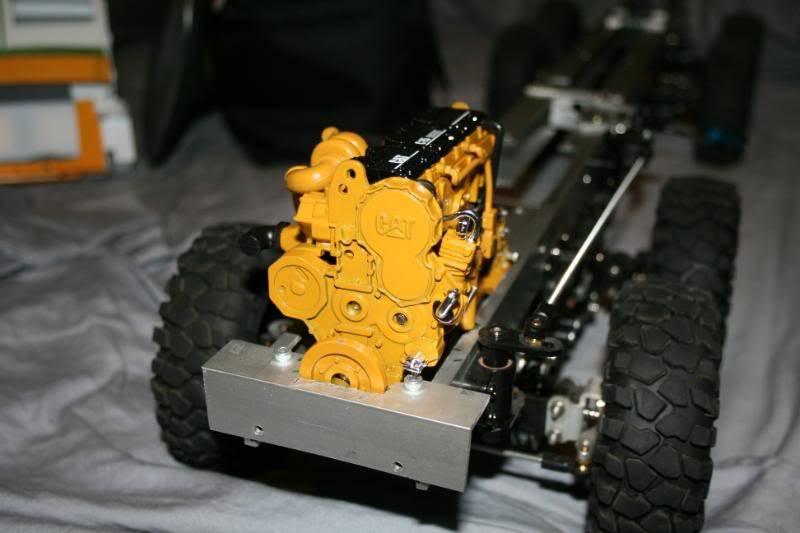 Diorama motor 1/12 CAR C15 ColinsAHSVS15003-1