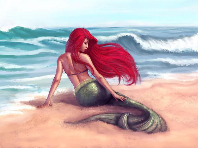 Votre personnage féminin préférés de l'univers Disney ? - Page 5 Ariel_by_lolita_art