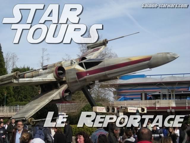 Star Tours Disneyland Paris Titre