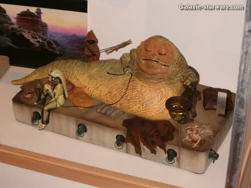 Jabba the Hutt Diorama gentle giant - Page 3 HPIM6084