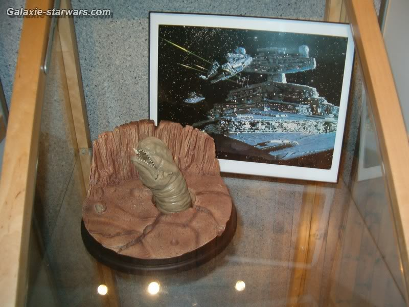 Diorama 'This is No Cave' Space Slug Enviorama HPIM6088