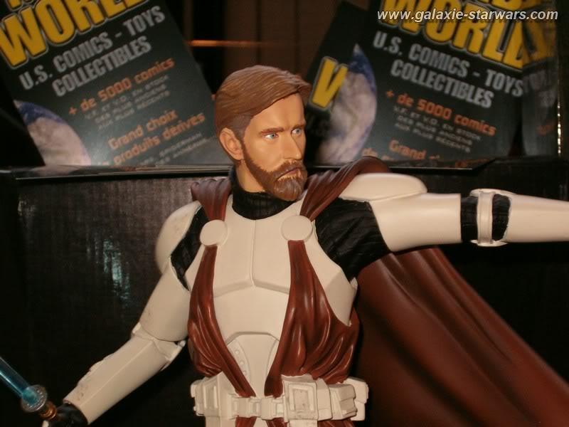 Obi-Wan Kenobi in Clone Trooper Armor Mini Bust UglyWan