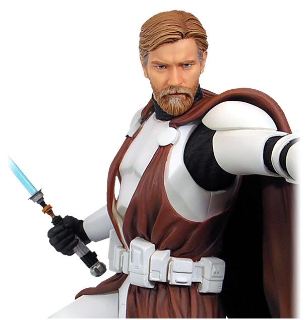 Obi-Wan Kenobi in Clone Trooper Armor Mini Bust Generalkenobi5lb