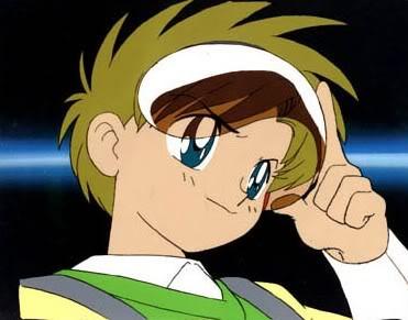 Shingo Tsukino Sammy-anime