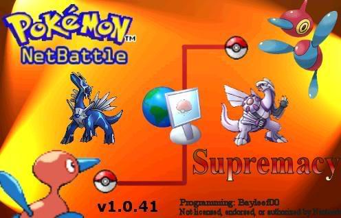 PokémonNetBattle Supremacy! Fglhmsuper