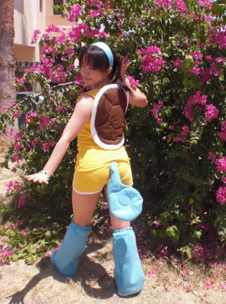 Cosplays pokémons! Squirtle