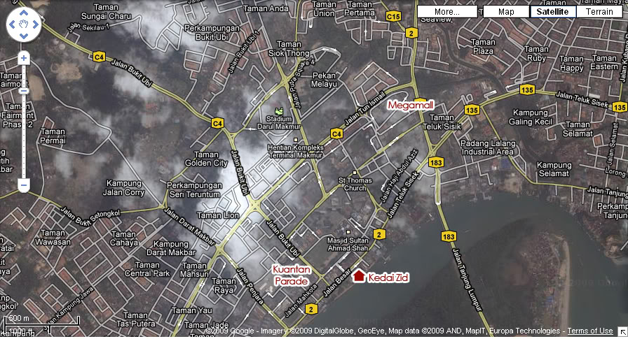 Peta Lokasi Petazid
