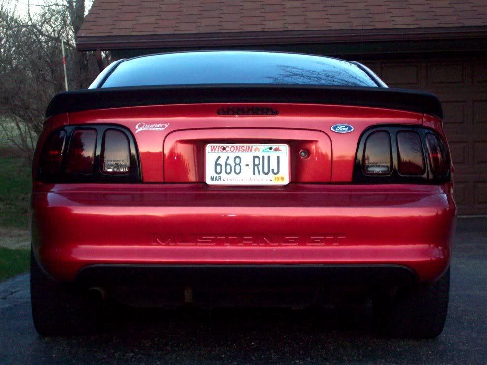 1994 Mustang GT, start till now!(picture heavy) Saleenback