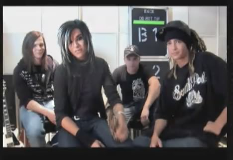 Tokio Hotel won the International Band in Rockbjörnen 28bzbx4