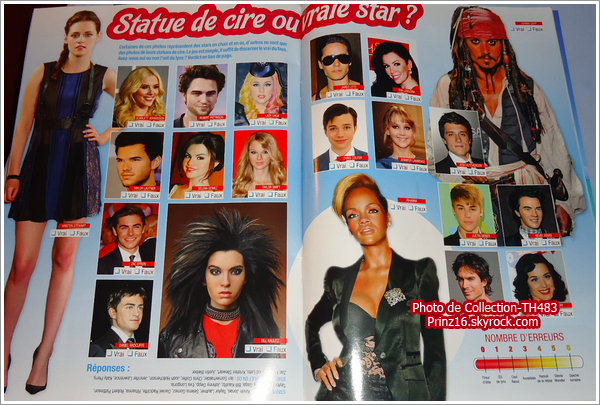 [scan FR] One n°27: statue de cire ou vrai star? jeux (16/08/12) ONEfR1