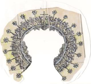 Realizar coronas de cartón Bocetoaurora-1