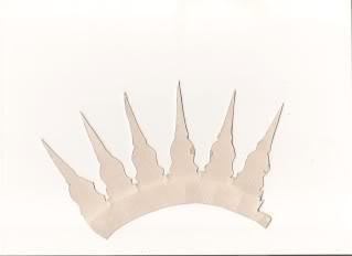 Realizar coronas de cartón Bocetocorona-1