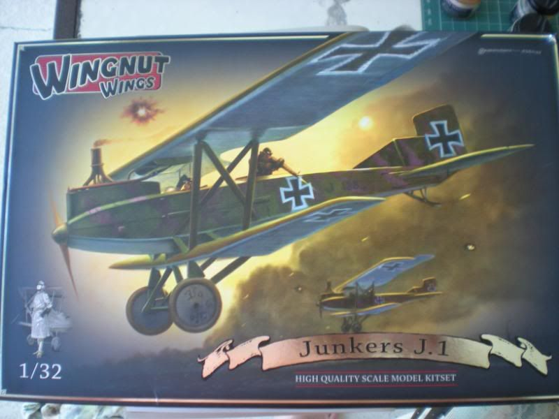 I bought a flying thingy ! JunkersJ-1001