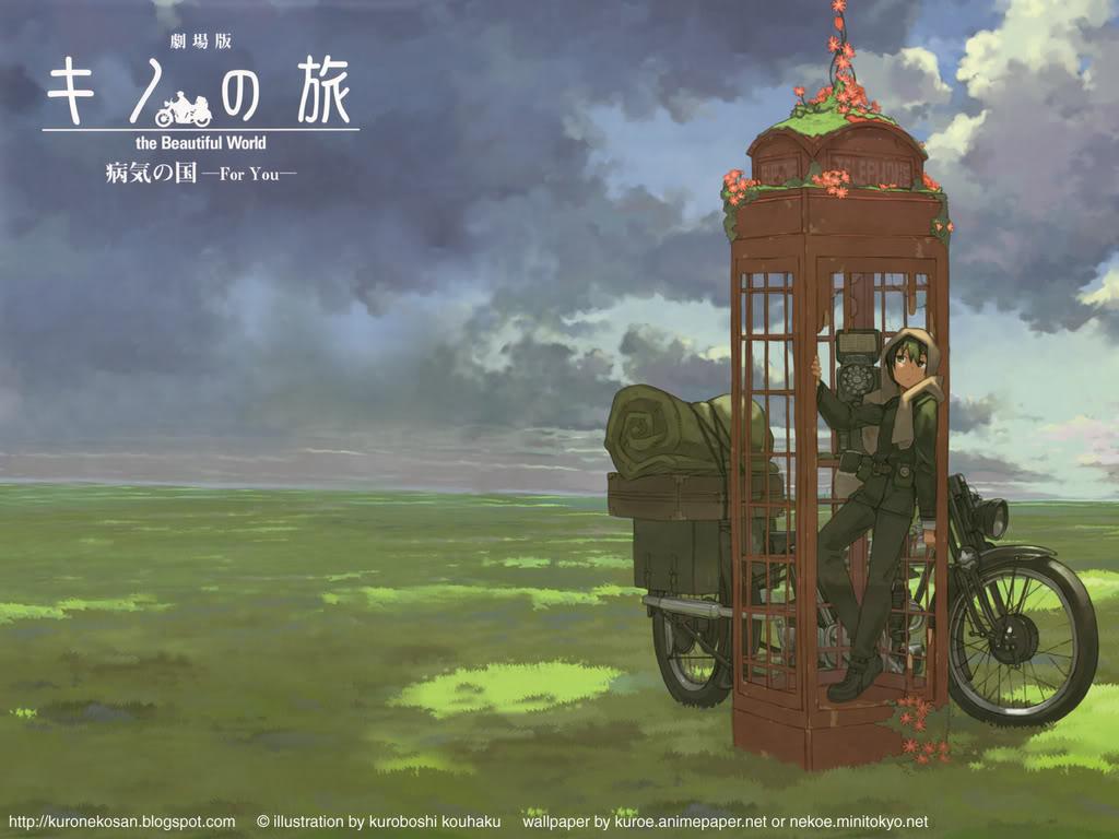 Kino no Tabi - The Beautiful World AnimePaperwallpapers_Kino-No-Tabi_k