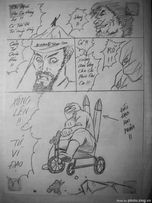 Truyện tranh: Chí Phèo đại hiệp phiêu lưu ký 17