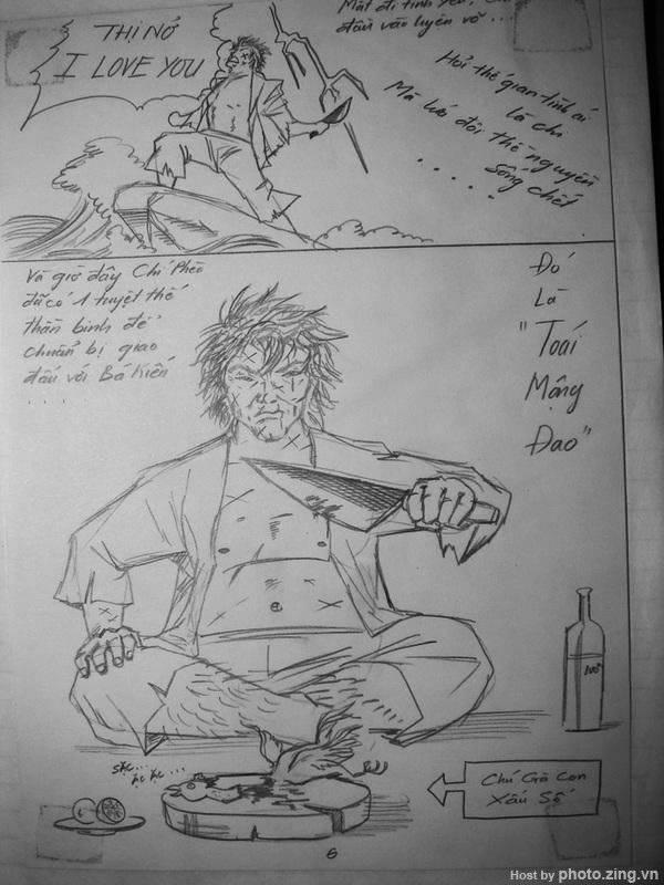 Truyện tranh: Chí Phèo đại hiệp phiêu lưu ký 7