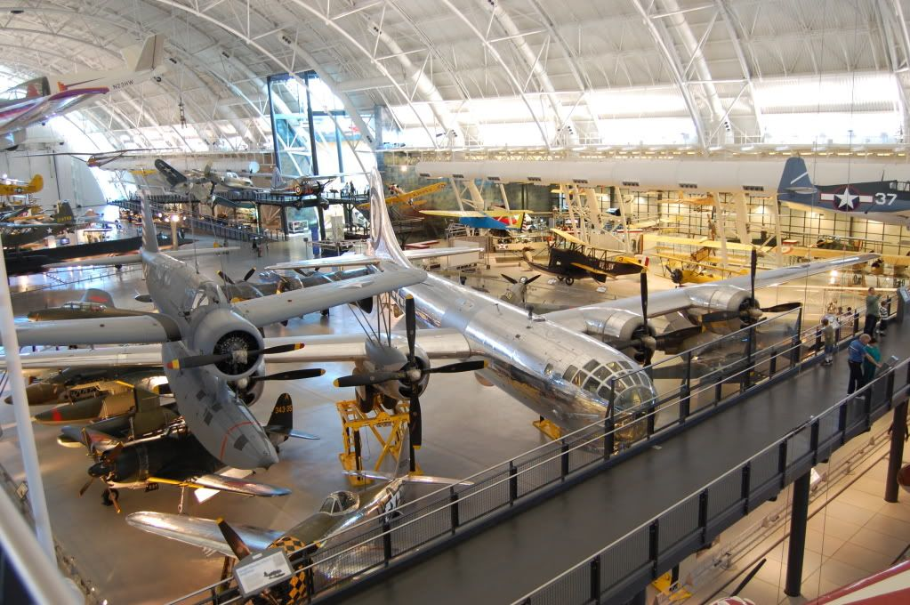 Udvar-Hazy Center, National Air and Space Museum View1