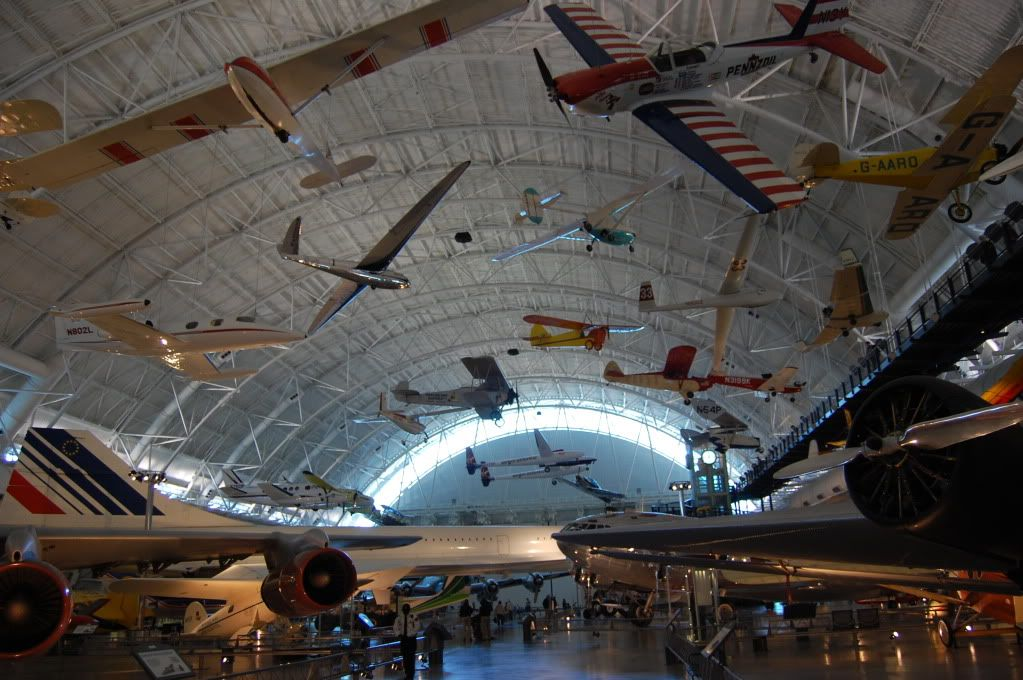 Udvar-Hazy Center, National Air and Space Museum View2
