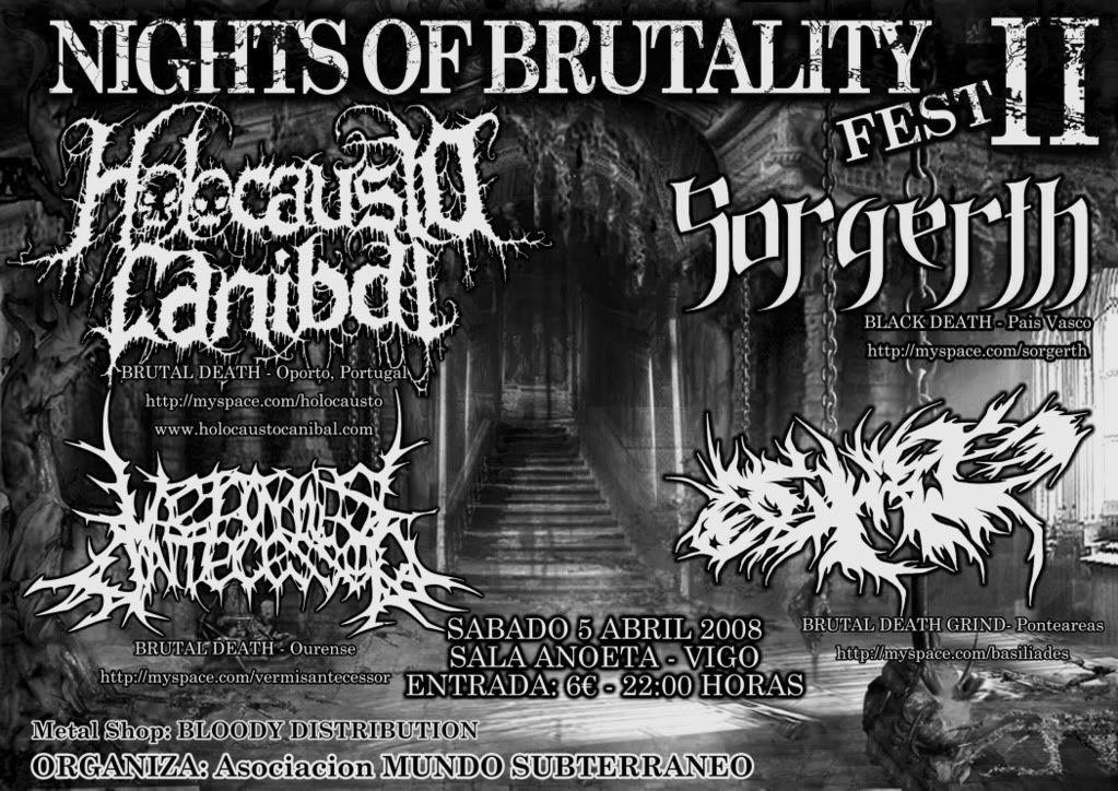 NIGHTS OF BRUTALITY FEST II NightsofbrutalityIIBN