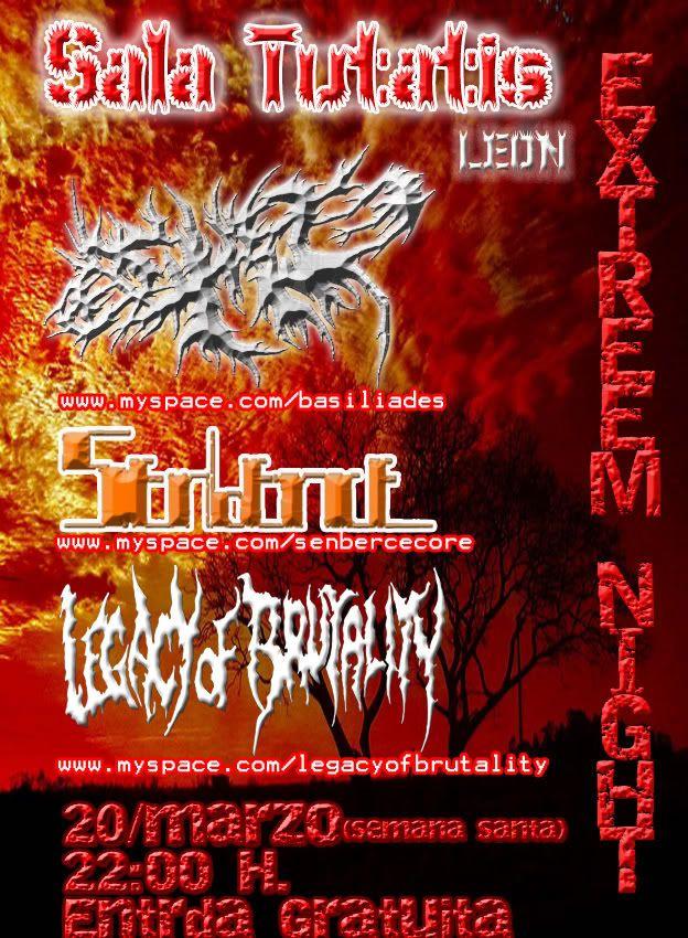 LEON: LEGACY OF BRUTALITY + BASILIADES + SEN BERCE  (gratis) 20 DE MARZO Leon-acopia-1