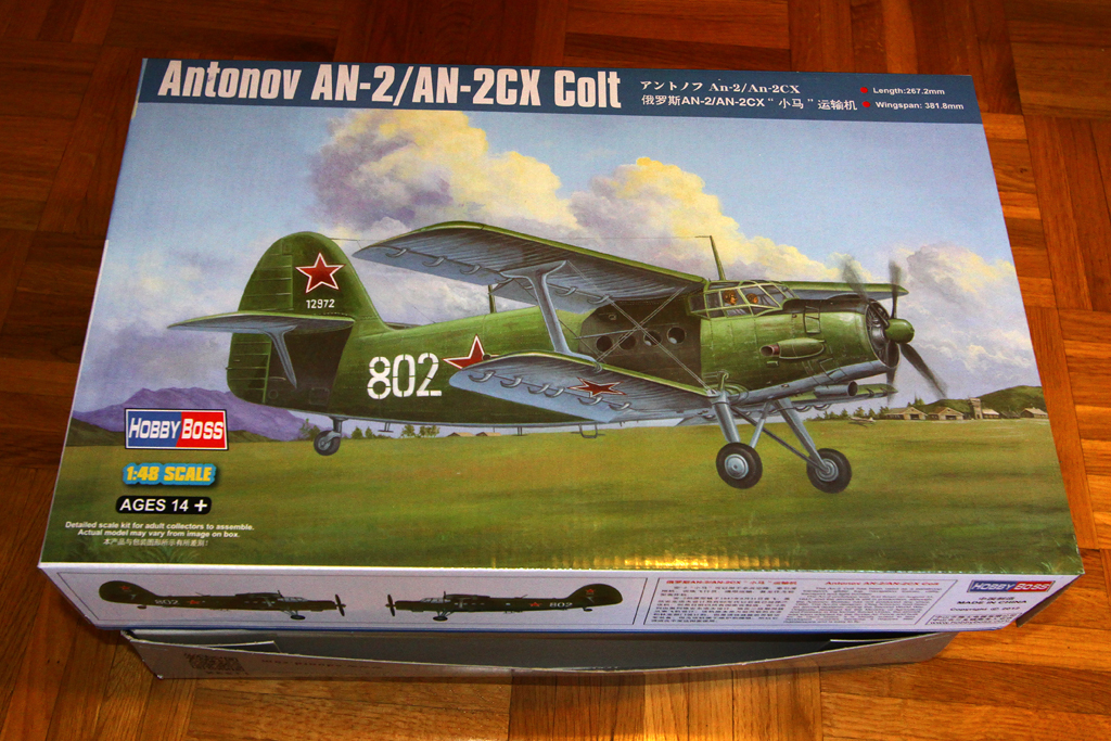 Antonov AN-2 Colt - Hobbyboss 1024-00