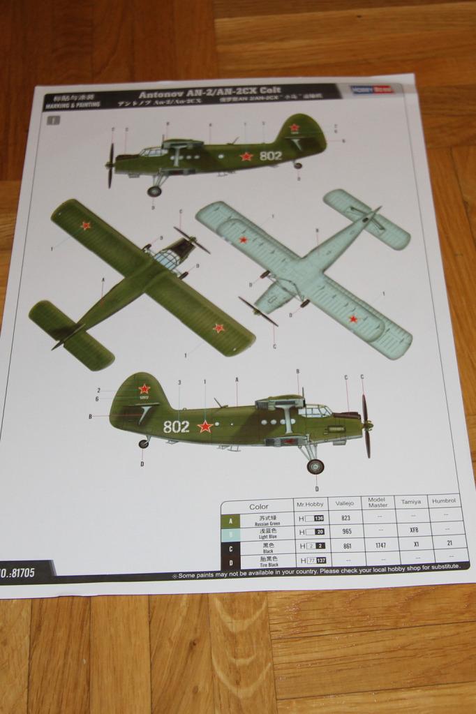 Antonov AN-2 Colt - Hobbyboss 1024-deco2