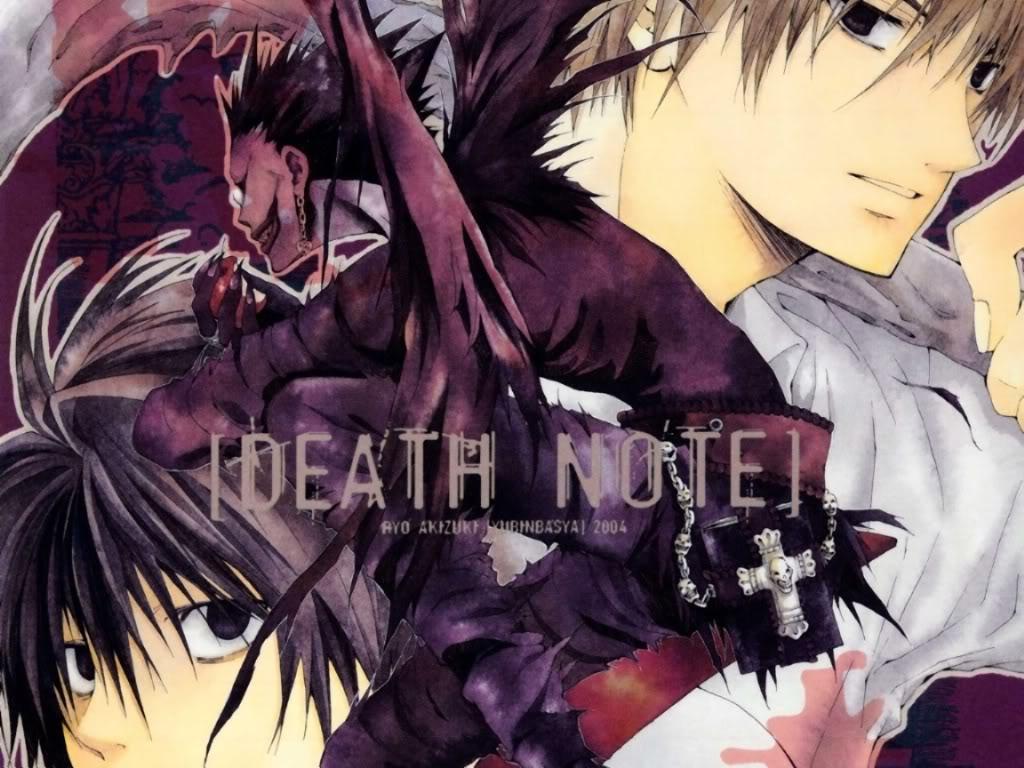 ][ღ][ صــــــــــــور Death Note ......مهداة الـــى الجمــيـــــع........][ღ][ Death-Note