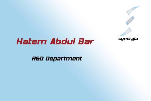 for the last version of the presentation.....!! Hatem