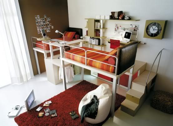 Pedido de habitaciones - Página 3 Red-teenage-loft-bedroom-554x404