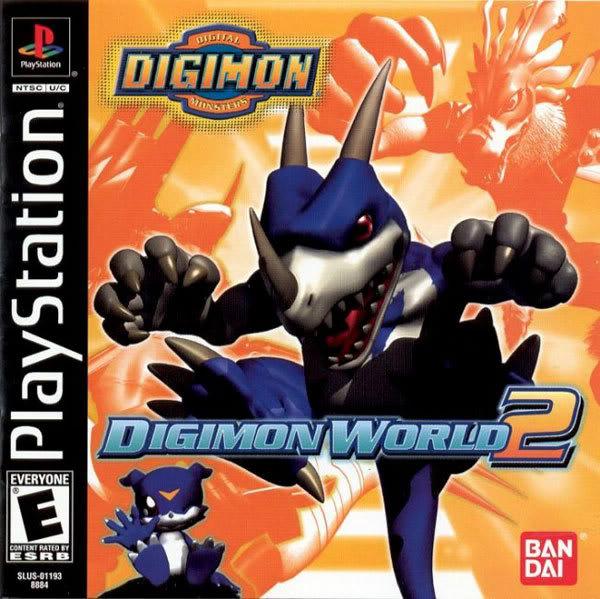 Descargar juegos Digimon DigimonWorld2USLUS-01193-front