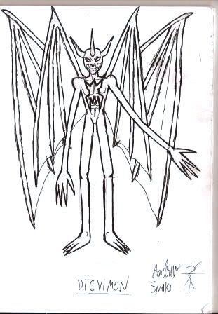 Caderno de Desenho: Devilish Angel Cpiadeaw001
