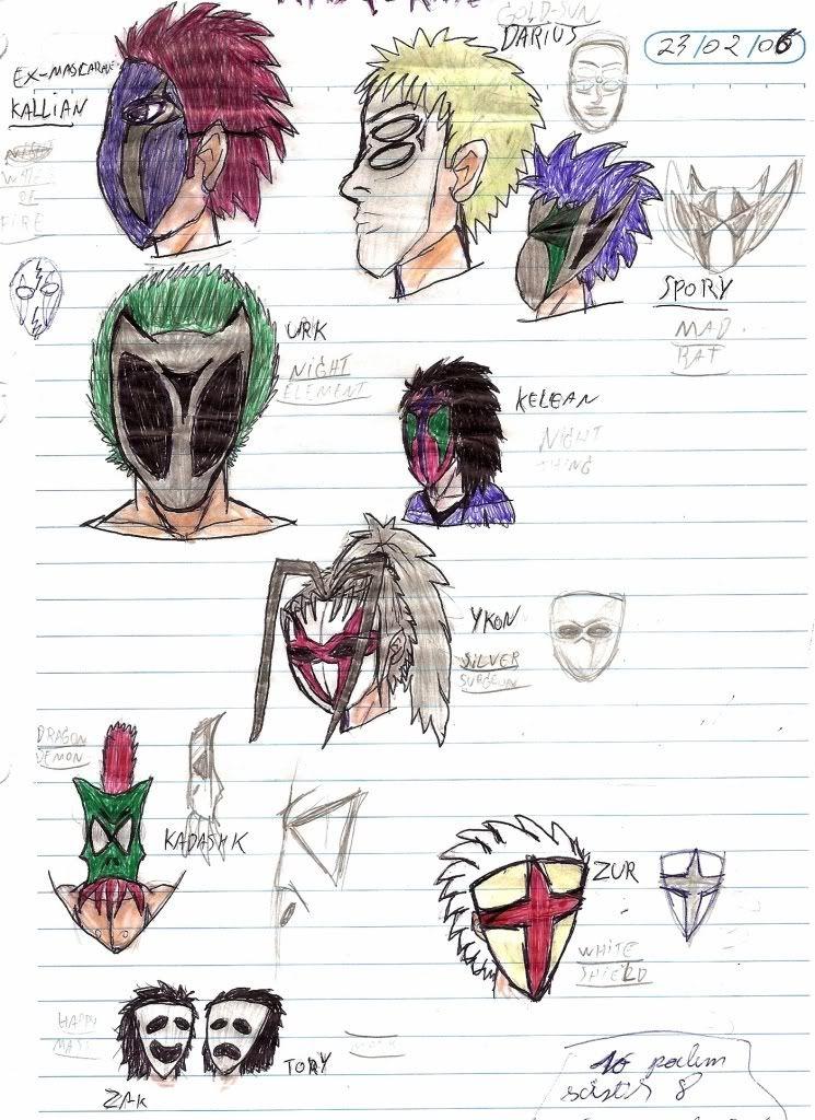 Caderno de Desenho: Devilish Angel MASCARADOS
