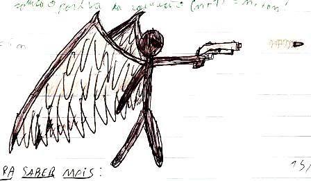 Caderno de Desenho: Devilish Angel ULTBLKNT2