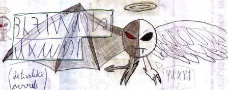 Caderno de Desenho: Devilish Angel ULTDVANG004