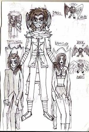 Caderno de Desenho: Devilish Angel Aw001