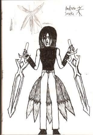Caderno de Desenho: Devilish Angel Aw005