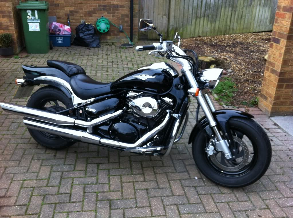 New Members .......... 2005 Suzuki M800 IMG_0869