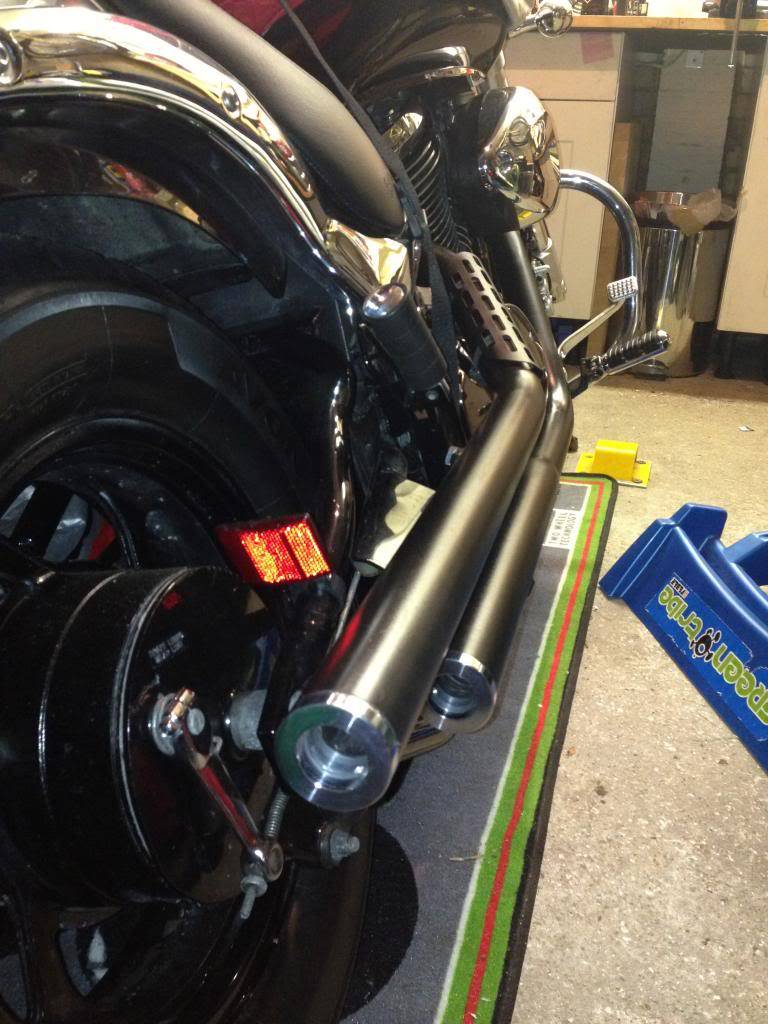 Finished Black Pipes with Billet Tips IMG_1814_zps12f03a1c