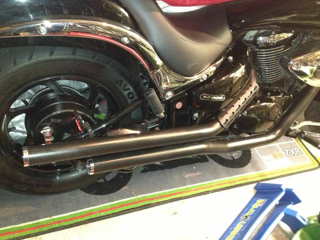 Finished Black Pipes with Billet Tips IMG_1815_zpsbec4aa49