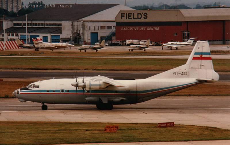 Antonov An-12 AN-12-YU-AID