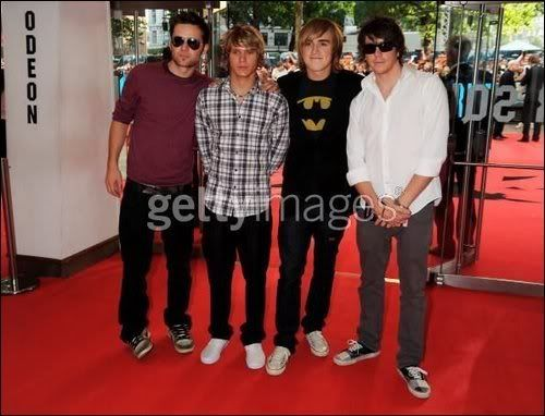 mcfly on dark knight premiere