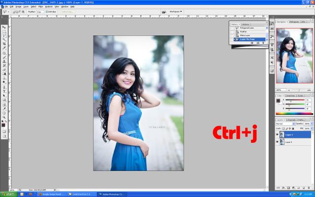 Hướng dẫn tách tóc bằng Corel knockout (Plugin của Photoshop)  3