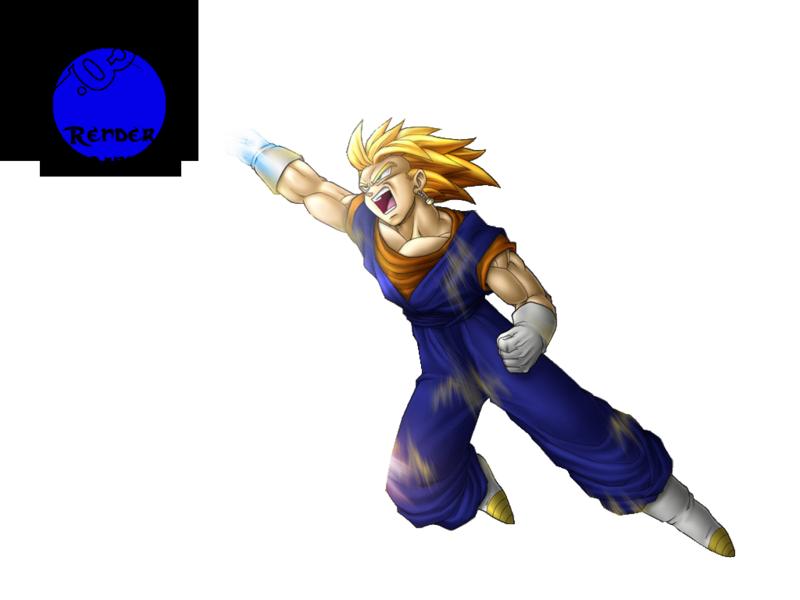 Renders de Dragon Ball Vegetto2-1
