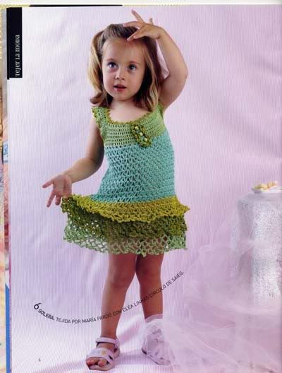 ملابس اطفال كروشيه حلوه ، صور ازياء و ملابس للاطفال كروشية بالباترون جديدة  47291650
