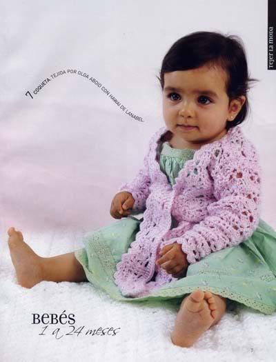 ملابس اطفال كروشيه حلوه ، صور ازياء و ملابس للاطفال كروشية بالباترون جديدة  47291653