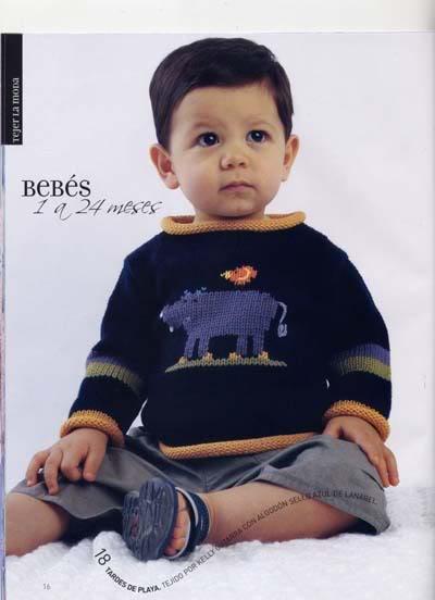 ملابس اطفال كروشيه حلوه ، صور ازياء و ملابس للاطفال كروشية بالباترون جديدة  47291714