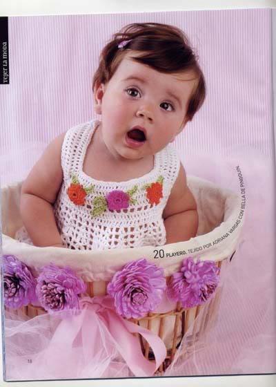 ملابس اطفال كروشيه حلوه ، صور ازياء و ملابس للاطفال كروشية بالباترون جديدة  47291727