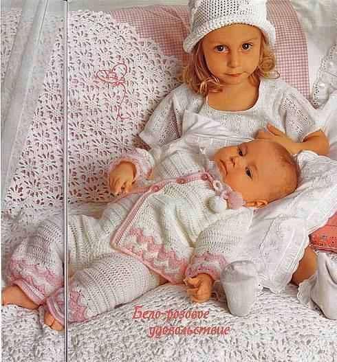 ملابس اطفال كروشيه حلوه ، صور ازياء و ملابس للاطفال كروشية بالباترون جديدة  47306896
