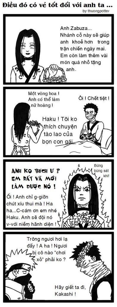 Naruto Manga Zui Haku