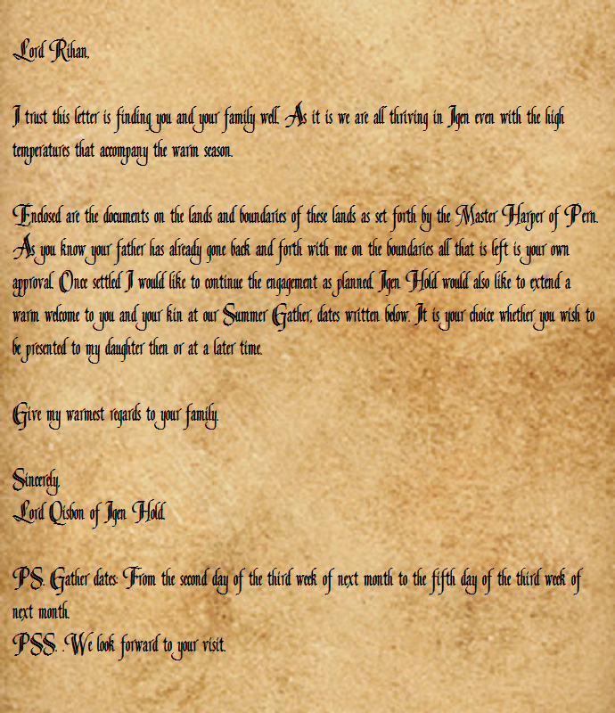 Letters to Rihan LettertoRihan1